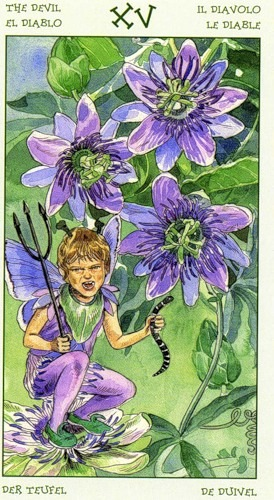 15-the-spirit-of-flowers-tarot-devil