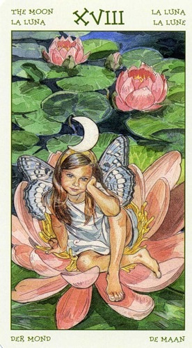 18-the-spirit-of-flowers-tarot-moon