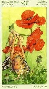 12-the-spirit-of-flowers-tarot-hanged-child