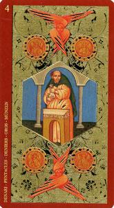54-taro-zoloto-ikon-pentakli-chetverka
