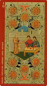 60-taro-zoloto-ikon-pentakli-desyatka