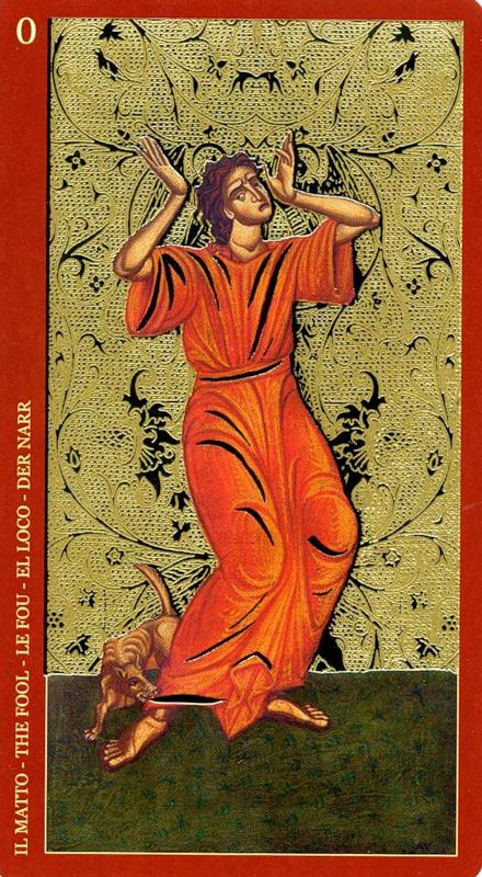 Золото икон таро как научиться раскладывать карты таро
