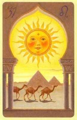 Солнце Ленорман значение
