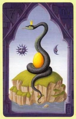 Змея Ленорман значение