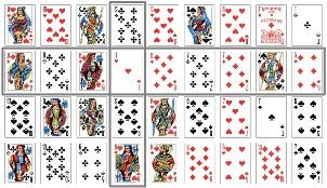 Гадание Ленорман на игральных картах