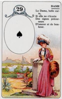 Ленорман на игральных картах