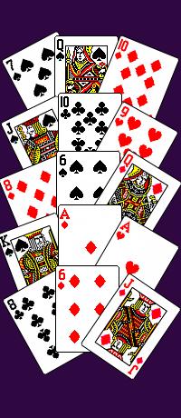 Схема гадание на картах гадание на короля колода карт