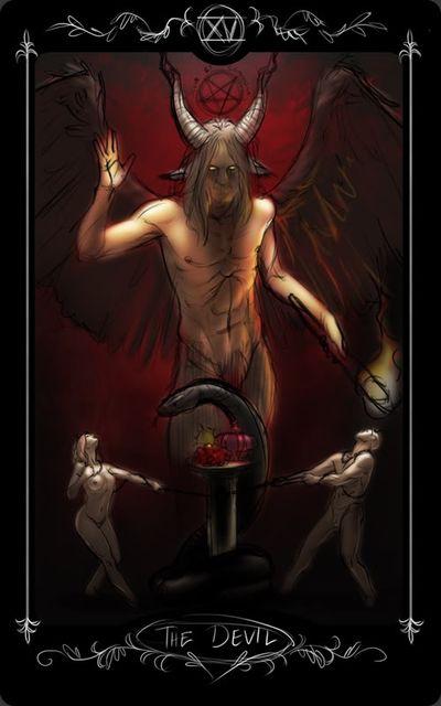 Магия гадания Дьявол Таро