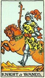 Карты Таро жезлы значение рыцарь жезлов