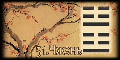 Толкование 51 гексаграммы Книги Перемен