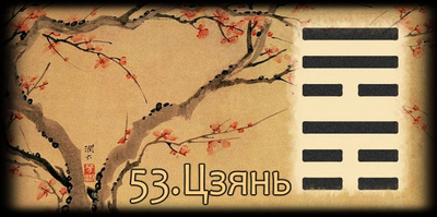 Толкование 53 гексаграммы Книги Перемен