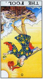 Значение карт Таро при гадании Карты Таро толкование перевернутый Дурак или Шут