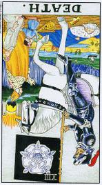 Значение карт Таро при гадании Карты Таро толкование перевернутая Смерть