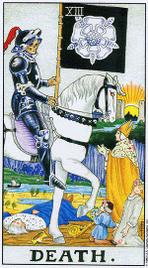 Значение карт Таро при гадании Карты Таро толкование Смерть