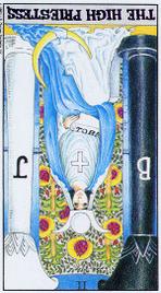 Значение карт Таро при гадании Карты Таро толкование перевернутая Верховная жрица или Папесса