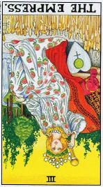 Значение карт Таро при гадании Карты Таро толкование перевернутая Императрица