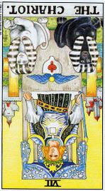 Значение карт Таро при гадании Карты Таро толкование перевернутая Колесница