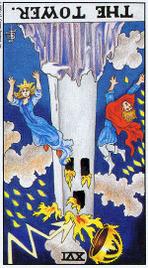 Значение карт Таро при гадании Карты Таро толкование перевернутая Башня
