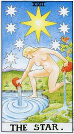 Значение карт Таро при гадании Карты Таро толкование Звезда