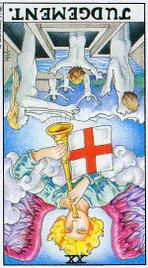Значение карт Таро при гадании Карты Таро толкование перевернутый Суд или Возрождение