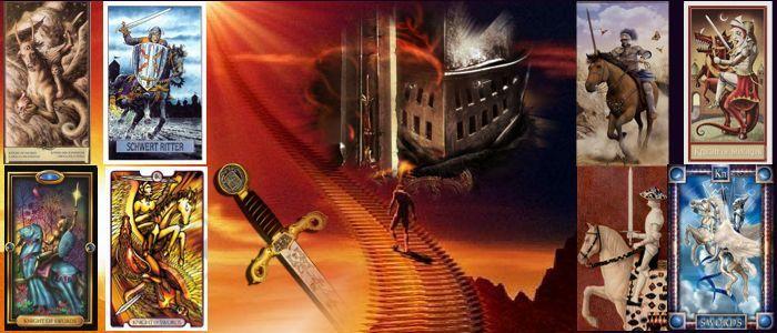 Толкование карт Таро Мечи | Рыцарь мечей Таро значение