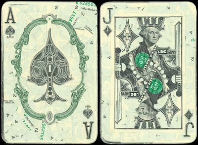 Гадание на деньги и богатство  Гадания на игральных картах