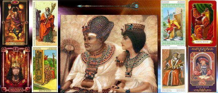 Толкование карт Таро Жезлы | Король жезлов Таро значение
