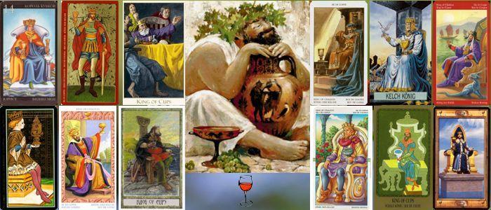 Толкование карт Таро кубки (чаши) | Король кубков (чаш)