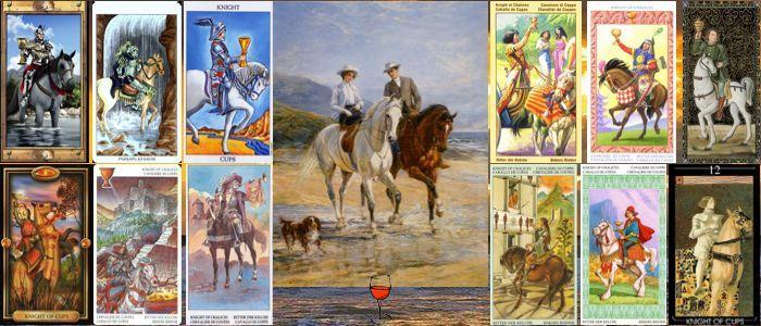 Толкование карт Таро кубки (чаши) | Рыцарь (Всадник, Кавалер) кубков (чаш)
