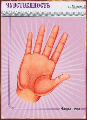 Чакры и линии на руке Чакра тела