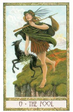 Гадание на Таро на Новый год Карта нового года Магия друидов Шут