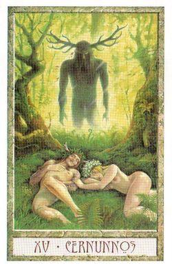 Гадание на Таро на Новый год Карта нового года Магия друидов Дьявол