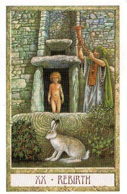 Гадание на Таро на Новый год Карта нового года Магия друидов Страшный суд