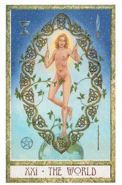 Гадание на Таро на Новый год Карта нового года Магия друидов Мир