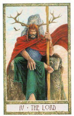 Гадание на Таро на Новый год Карта нового года Магия друидов Император