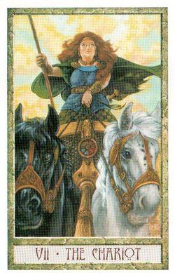 Гадание на Таро на Новый год Карта нового года Магия друидов Колесница