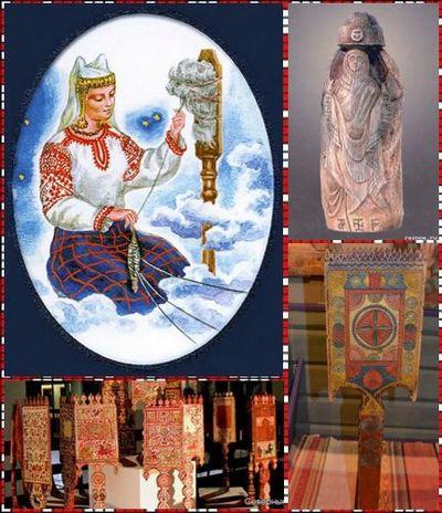 Славянские обереги для дома Макошь