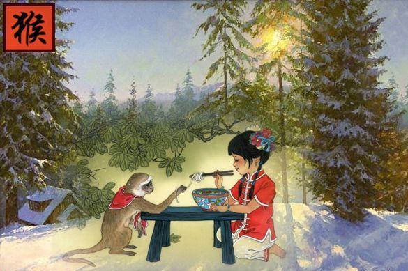Новогодние гадания Год Огненной Обезьяны 2016 Как встретить Новый год? Гадания на Новый год