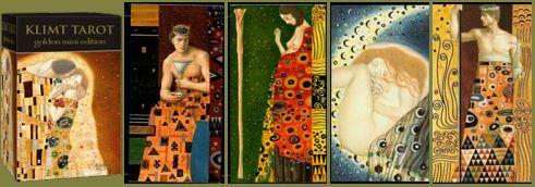 Самые красивые колоды Таро, Золотое Таро Климта