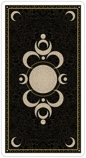 Таро Безумной Луны Deviant Moon Tarot рубашка колоды