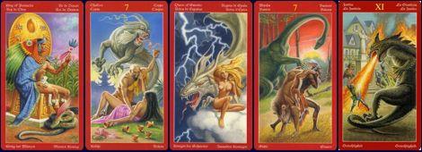 Волшебное Таро сказок Таро Драконов (Dragons Tarot)