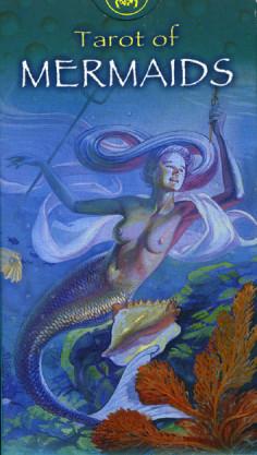 Колода Таро Волшебный Мир Сирен (Tarot of the Mermaids) автора Пиетро Аллиего (Pietro Alligo) и художника Мауро де Лука ( Mauro De Luca)