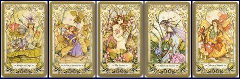 Волшебное таро сказок Мистическое Таро фей (Mystic Faerie Tarot)