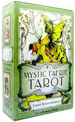 Коробка Мистическое Таро Фей (Mystic Faerie Tarot) Линды Равенскрофт и Барбары Мур (Barbara Moore & Linda Ravenscroft)