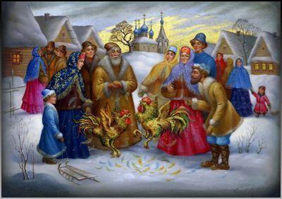 Время гаданий на Новый год 2017. Год огненного Петуха. Новогодние гадания.Гадание на будущее.