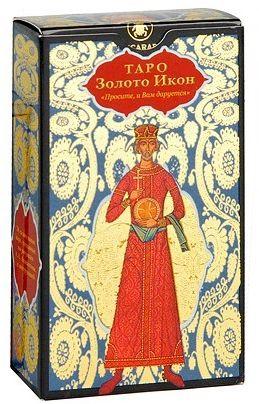Карты таро Золото икон коробка