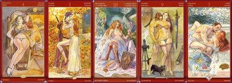 Эротические колоды Галерея Таро Наслаждений Таро сексуальной магии