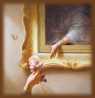 Что означают линии на ладони, руки влюбленных, роза в руке, рука и картина