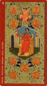 59-taro-zoloto-ikon-pentakli-devyatka