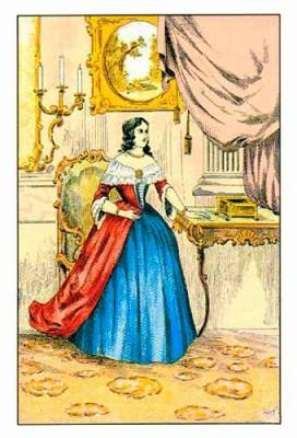 Женщина бланка